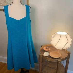 Torrid Blue Textured Knit Dress Size 2X